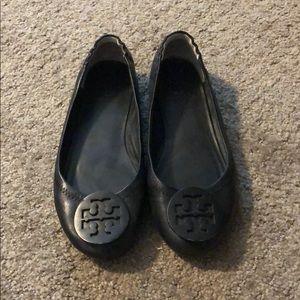 Tori Burch Black Ballet Flat